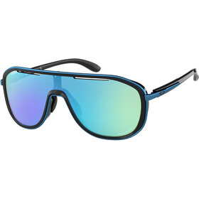 Oakley Outpace Sunglasses polished black/prizm sapphire